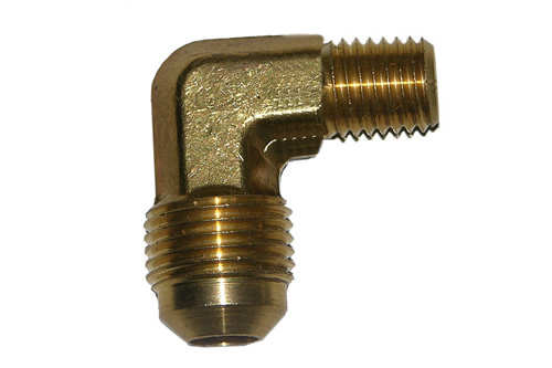48-270            3/8 Inch Male Flare Elbow X 1/8 Inch Male Pipe Thread With #56 Orifice