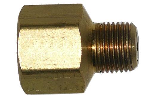 48-80              1/4 Inch Female Pipe Thread X 1/8 Inch Male Pipe Thread #58 Orifice