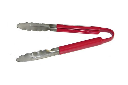 64-80               9 Inch Red Cool Handle Tongs