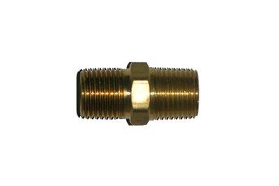 41-1           1/8 Inch Male Pipe Thread X 1/8 Inch Male Pipe Thread Hex Nipple
