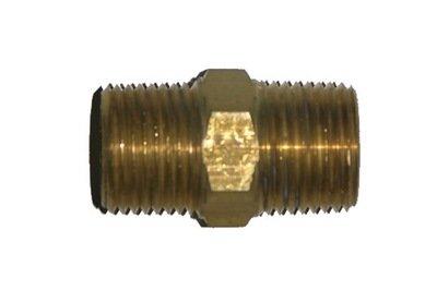 41-10             1/4 Inch Male Pipe Thread X 1/4 Inch Male Pipe Thread Hex Nipple