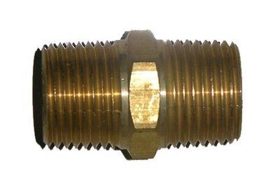 41-20             3/8 Inch Male Pipe Thread X 3/8 Inch Male Pipe Thread Hex Nipple