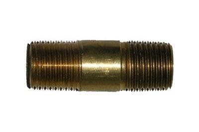 41-30          1/2 Inch Male Pipe Thread X 1/2 Inch Male Pipe Thread Hex Nipple