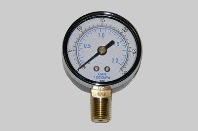 21-00               2 Inch Dial Pressure Gauge 0-30 Psi