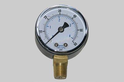 21-1                      2 Inch Dial Pressure Gauge 0-60 Psi