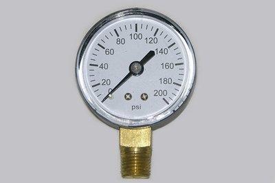 21-20                   2 Inch Dial Pressure Gauge 0-200 Psi