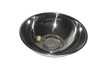58-10         Stainless Steel 1- 1/2 Quart - 7 3/4 Inch X 2 3/4 Inch Mixing Bowl