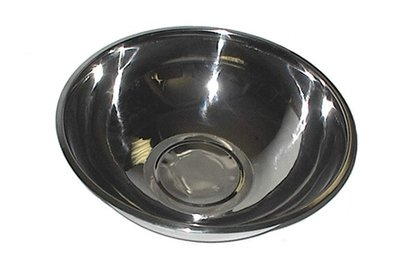 58-70     Stainless Steel 10 1/2 Quart - 15 Inch X 5 1/4 Inch Mixing Bowl