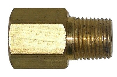 48-40            1/8 Inch Female Pipe Thread X 1/8 Inch Male Pipe Thread #61 Orifice