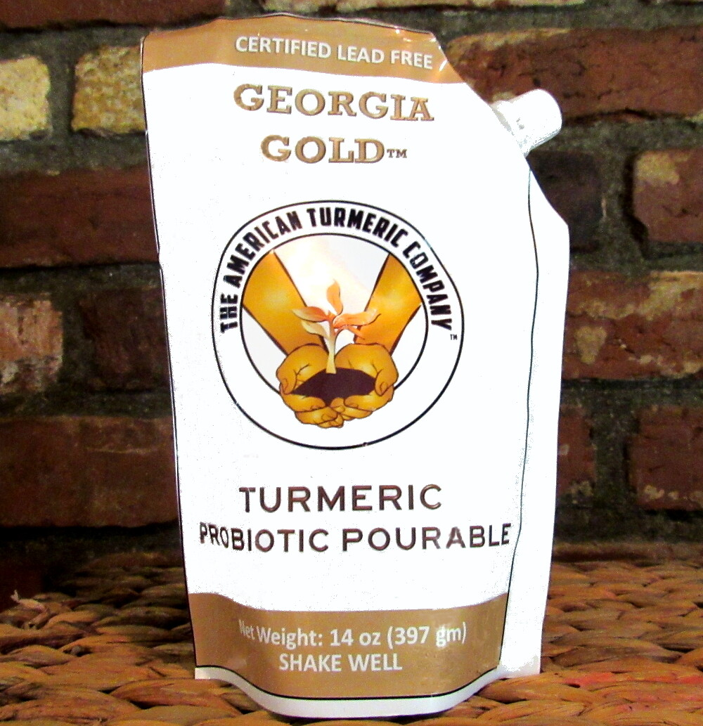 Fermented Raw Probiotic Turmeric Pourable - Raw Turmeric with Probiotics. Now with Discounts - SAVE BIG!
