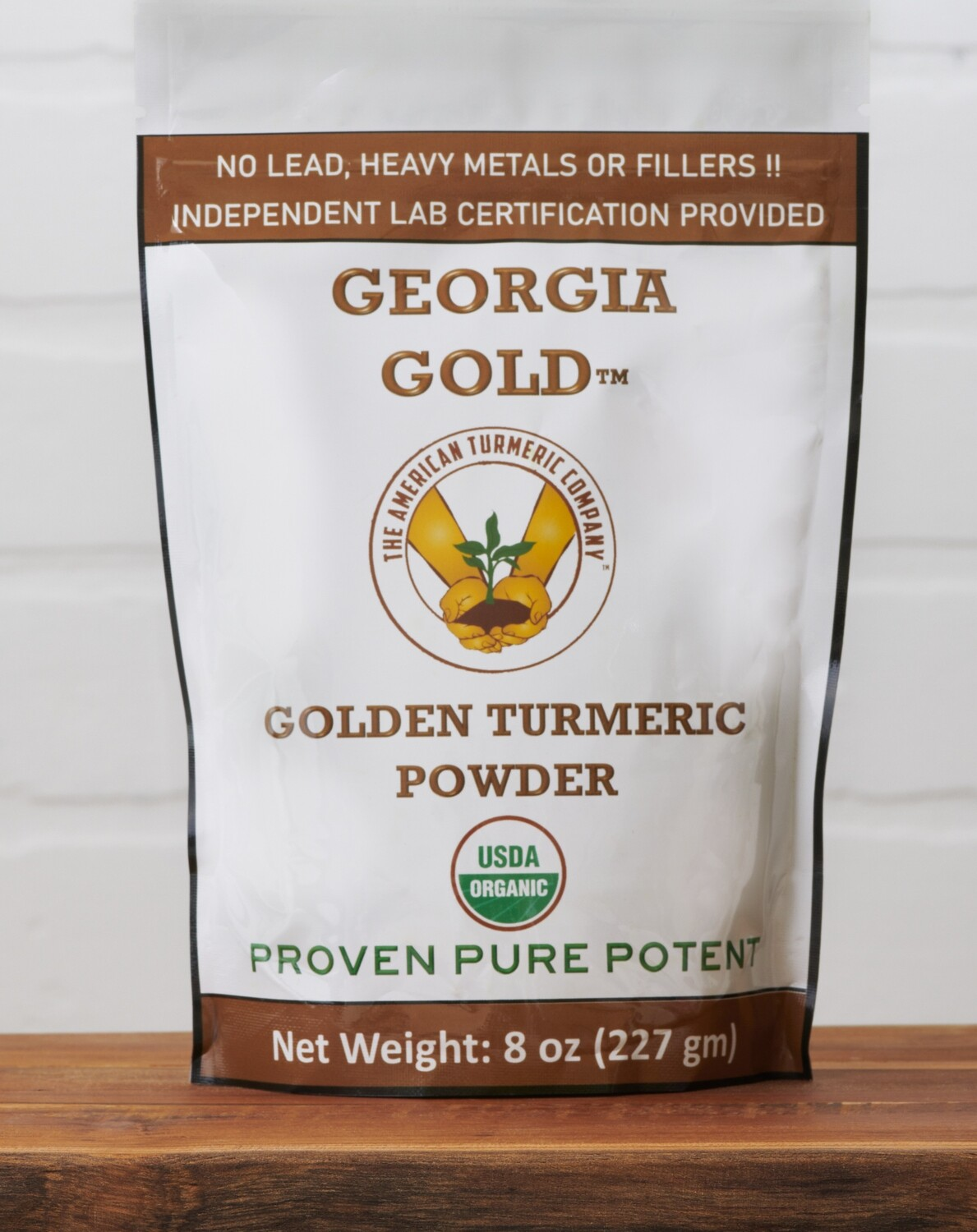 American Turmeric Powder - No Lead - Lab Results Included - 1/2 pound. Now with Discounts - USDA Organically Certified - SAVE BIG!