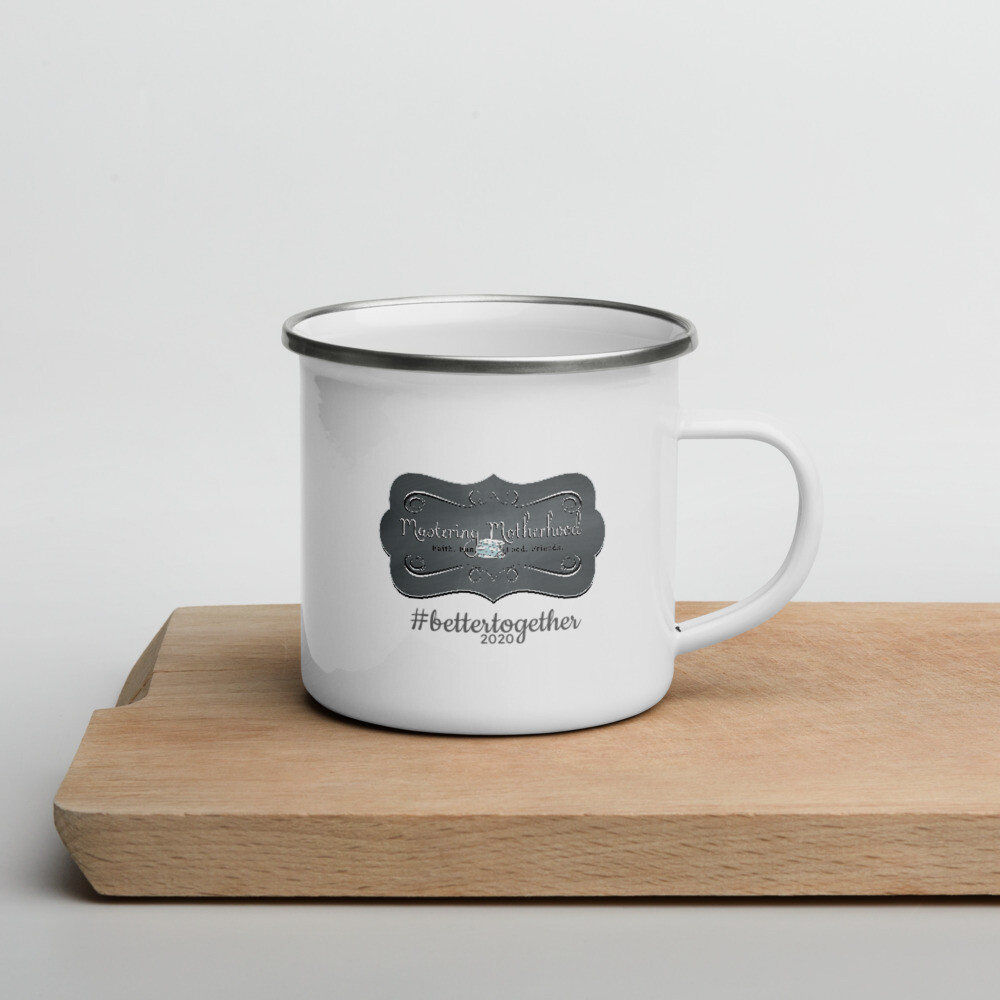 2020 #bettertogether Enamel Mug