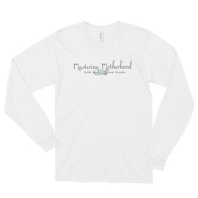 Mastering Motherhood Long Sleeve T-Shirt
