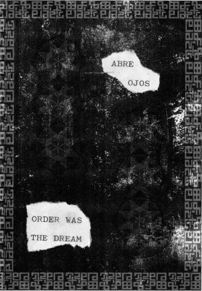 [RFS006] Abre Ojos - Order Was The Dream  TAPE