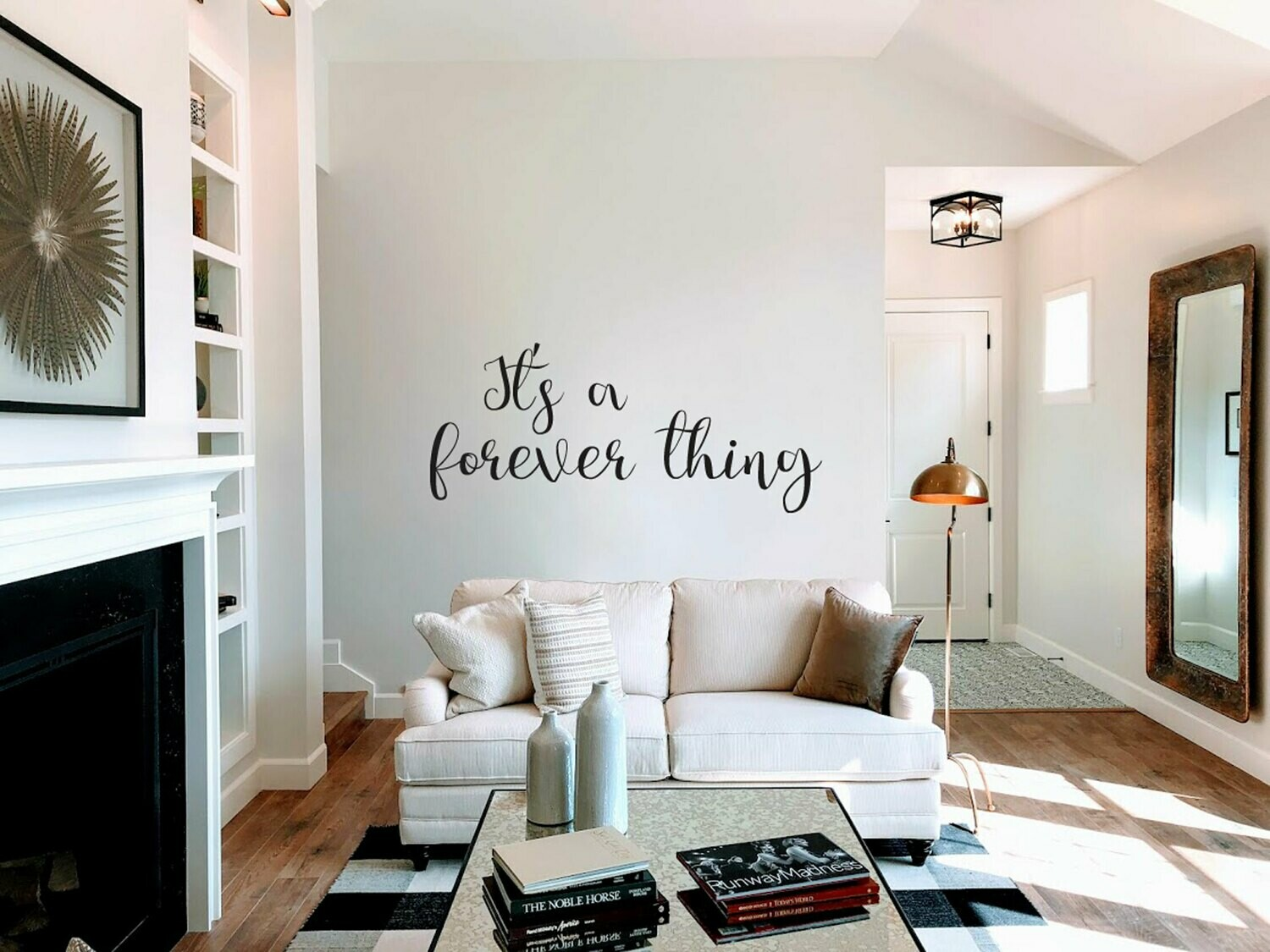 It's a forever thing wall decal BC952