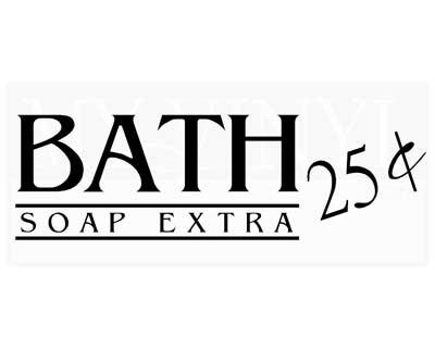 Bath ... soap extra BA001