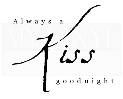 A003 Always a kiss goodnight