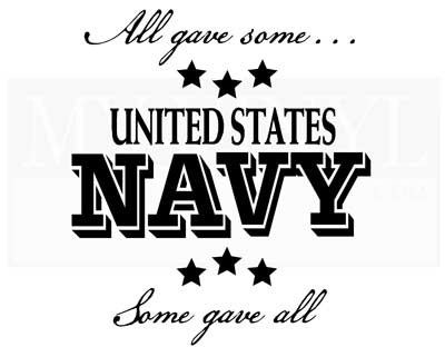 PA006 All gave some... Navy