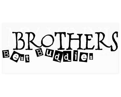 CT036 Brothers Best Buddies
