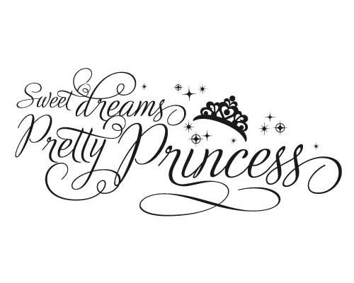 KW153 Sweet dreams pretty princess