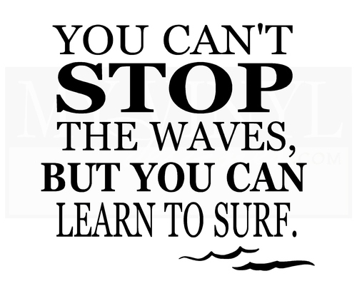 NA006 You can't stop the waves