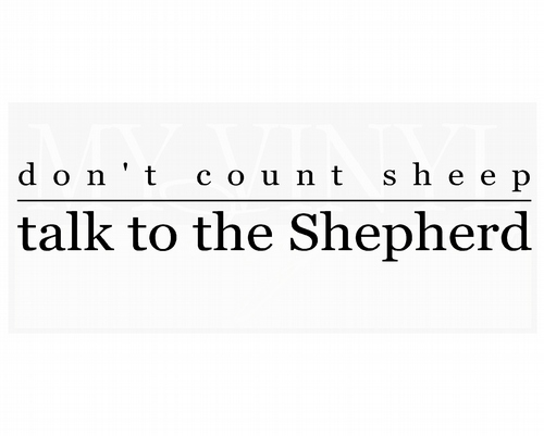C022 Don't count sheep