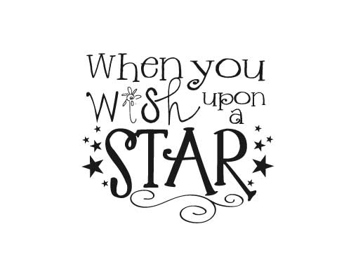 KW185 When you wish upon a star