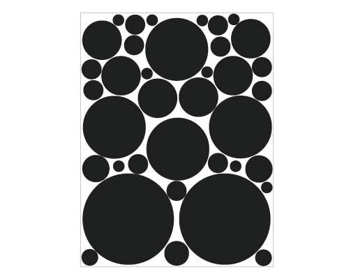 EM101 Bubble Sheet vinyl graphics