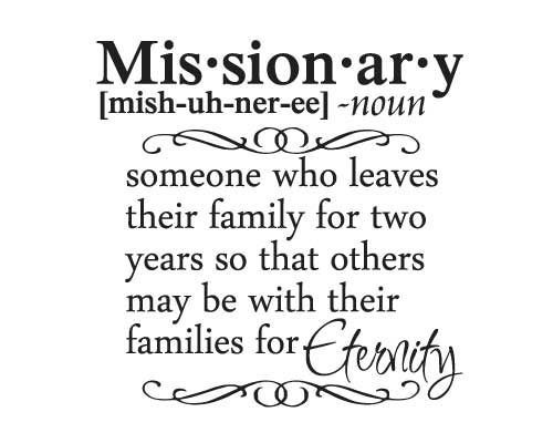 CL100 Missionary Definition