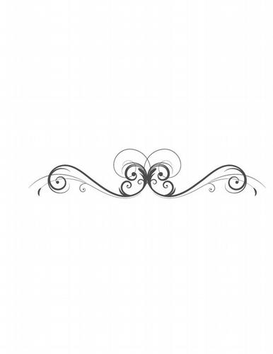 BC307 Lg Swirl Underscore