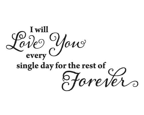 BC024 I will love you