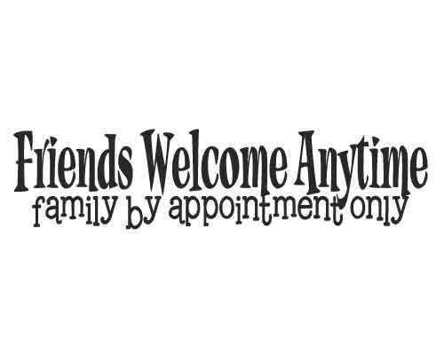 BC139 Friends Welcome