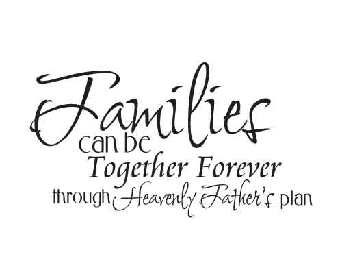 KW188 Families can be together forever