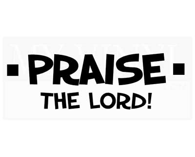 C002 Praise the lord