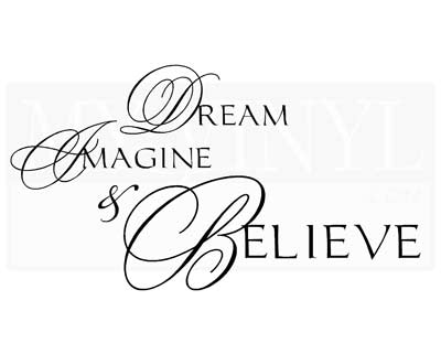 IN003 Dream Imagine and Believe