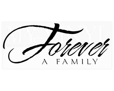 FA016 Forever a Family