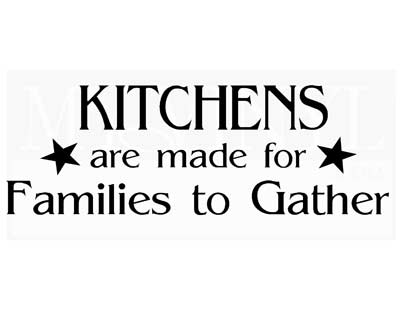 KR002 Kitchens are made for Families to gather