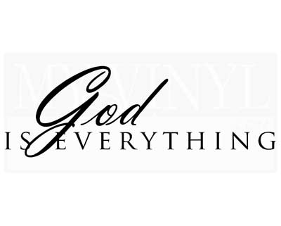 C012 God is Everything