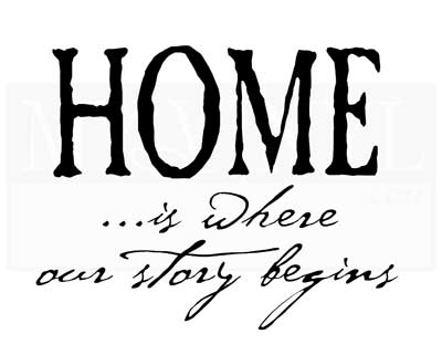 H003 Home... is where our story begins
