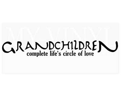 GR007 Grandchildren complete life's circle of love