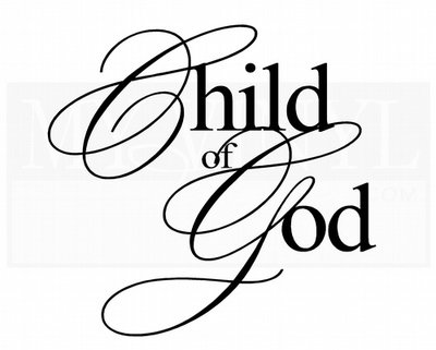 CL010 Child of God decal vinyl sticker