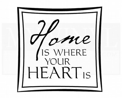 H006 Home is where your heart is