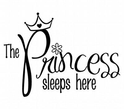 BC144 The Princess sleeps here