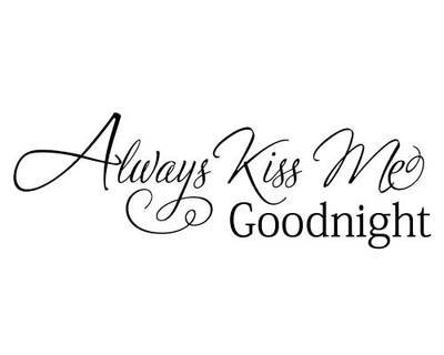 RC010 Always kiss me goodnight