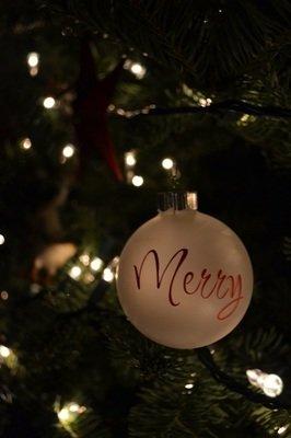Christmas Bulb Words (12 words)