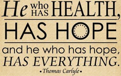 DOC117 He who has health, has hope