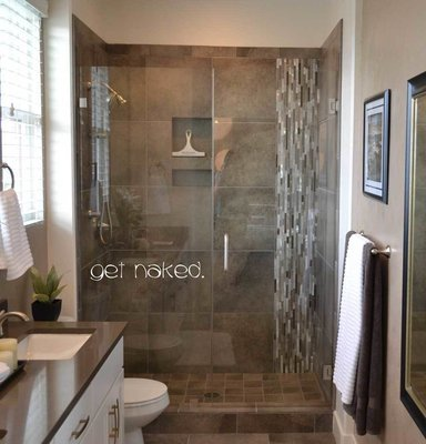 Get Naked bathroom wall sticker decal BA101