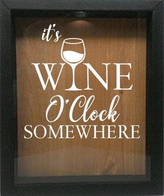 It's wine o'clock somewhere BC821