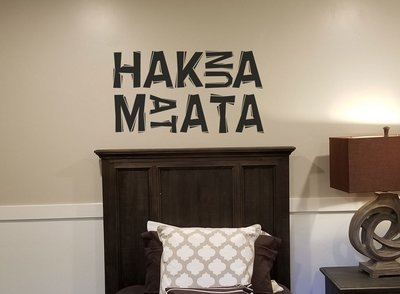 Hakuna Matata Disney decal wall sticker CT200