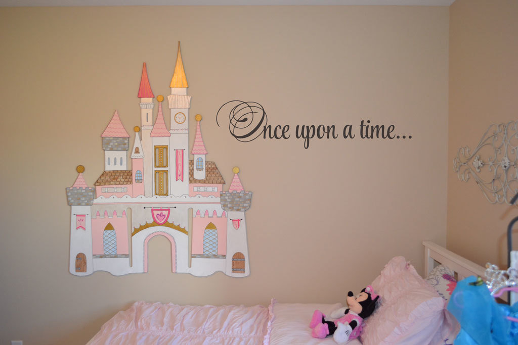 Once upon a time Disney decal wall sticker BC829